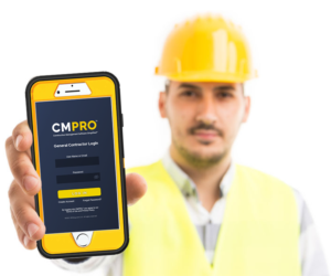 General Contractor using CMPRO Construction Management Software subscription pricing